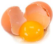 яичный белок для сужения пор